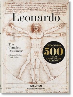 Leonardo. The Complete Drawings Johannes Nathan, Frank Zollner, Frank Zoellner 9783836554411