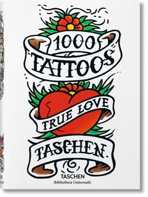 1000 Tattoos  9783836549929