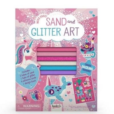 Sand and Glitter Art Laura Jackson 9781787720770