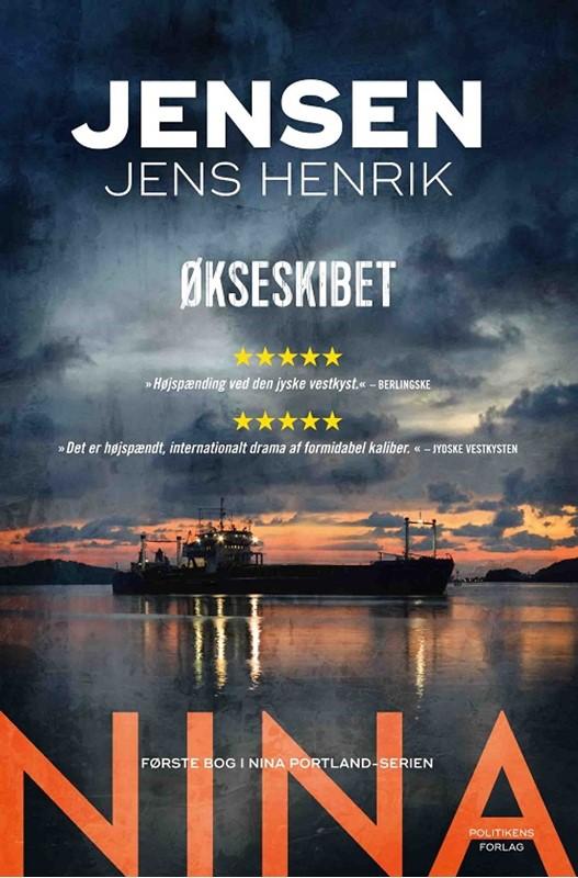 Økseskibet af Jens Henrik Jensen - bog 1