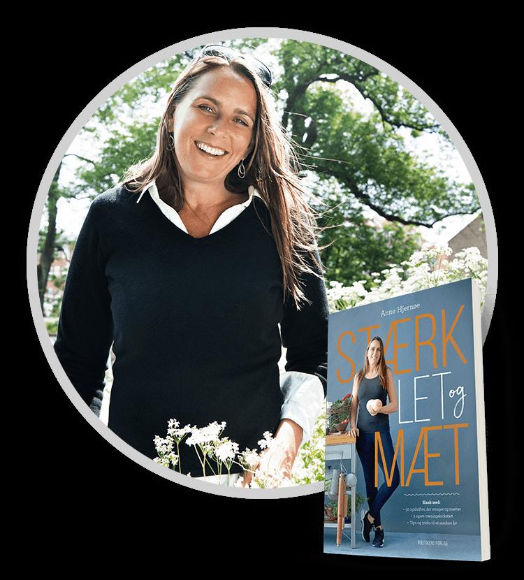 Forfatteraften med Anne Hjernøe i samarbejde med Plusbog.dk. Anne Hjernøe fortæller om hendes ny bog Stærk, let og mæt.