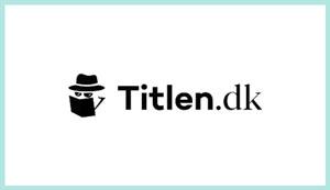 Titlen.dk - nomineret til DBBA 2020 Plusbog